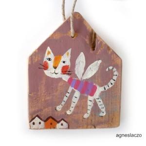 Macska angyal AKCIOS  (FANYUVASZTO) - Meska.hu