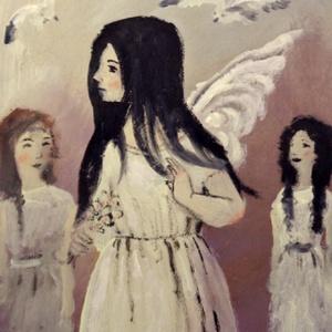 Sára , Művészet, Akril, Festmény, INGYENES POSTA !  Eredeti akrilik festmenyem, faroston. Meret : kb 18.3  x 24.2  cm. A szinek elterh..., Meska