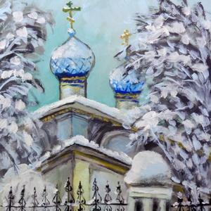 Kék kupola  (FANYUVASZTO) - Meska.hu