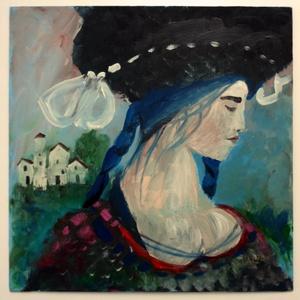 Igazmondó Aleighcia dala , Akril, Festmény, Művészet, Festészet, Fotó, grafika, rajz, illusztráció, INGYENES POSTA!\n\nAkril festmenyem faroston\nkb. 35 x 35 cm. \nA szinek elterhetnek a monitor beallitas..., Meska