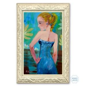 Kék ruha (FANYUVASZTO) - Meska.hu