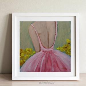 Sárga rózsák, Otthon & lakás, Lakberendezés, Képzőművészet, Festmény, Akril, Eredeti akrilik festmenyem faroston. Meret kb : 28 x 28 cm. A szinek elterhetnek a monitor beallitas..., Meska