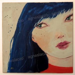 Gina, Művészet, Festmény, Akril, Fotó, grafika, rajz, illusztráció, Festészet, INGYENES POSTA\nEgyedi akrilik festmenyem faroston.\nMerete kb 25 x 25 cm.\nA szinek elterhetnek a moni..., Meska