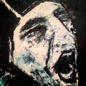 BENEDEK TIBOR EMLÉKÉRE, Otthon & lakás, Képzőművészet, Festmény, Olajfestmény, Festészet, Benedek Tibor emlékére készült portré festmény.\n\nA festmény olajjal készült vászonra, gyors, express..., Meska