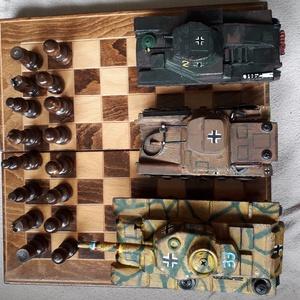 Fatank - Panzer II Könnyű tank 1/30 - játék & gyerek - húzó & tolójátékok - Meska.hu