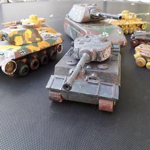 Fatank - Tigris I nehéz tank 1/30, Férfiaknak, Játék, Gyerek & játék, Fajáték, Famegmunkálás, A Tigris. Páncélszürke, rozsdafoltos. Tömör fából, csavarokkal, hogy bírja a csataterek megpróbáltat..., Meska