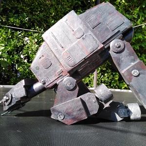 Birodalmi lépegető: AT-AT, Robot & Gép, Plüssállat & Játékfigura, Játék & Gyerek, Famegmunkálás, A Csillagok háborújából ismert birodalmi lépegető (AT-AT, All-Terrain Armored Transport) fajátékként..., Meska