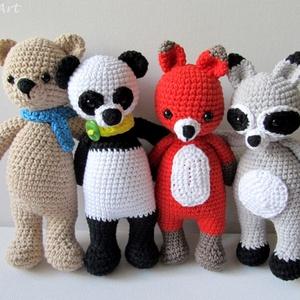 Tao, a panda (FatemArt) - Meska.hu