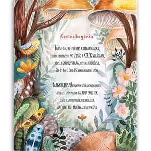 Erdei vászonkép megszemélyesített szöveggel, Otthon & Lakás, Felirat, Dekoráció, Festészet, Fotó, grafika, rajz, illusztráció, Meska