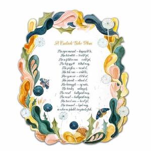 A Családi Béke Titkai plakett, Otthon & lakás, Dekoráció, Lakberendezés, Ünnepi dekoráció, Esküvő, Nászajándék, Ajtódísz, kopogtató, Gravírozás, pirográfia, Festészet, Különleges ajándék lehet friss házasoknak nászajándékba, vagy új lakásavatóra ez a csodaszép plakett..., Meska
