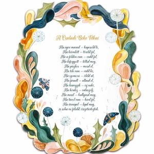 A Családi Béke Titkai plakett, Táblakép, Dekoráció, Otthon & Lakás, Gravírozás, pirográfia, Festészet, Különleges ajándék lehet friss házasoknak nászajándékba, vagy új lakásavatóra ez a csodaszép plakett..., Meska