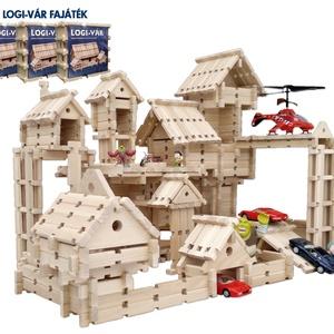 4 cs.  LOGI-VÁR natúr fa építőjáték (344 elem), Gyerek & játék, Gyerekszoba, Játék, Készségfejlesztő játék, Famegmunkálás, Mindenmás, Profi építészeknek otthoni játékra és óvodai csoportok részére javasolt mennyiség. LOGI-VÁR építőját..., Meska