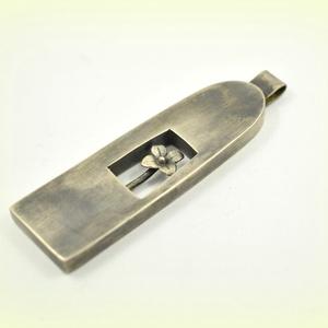 Ezüst virágom, Ékszer, Medál,  Ezüstből készült ez a különleges medálka, Magassága kb 5 cm. , Meska