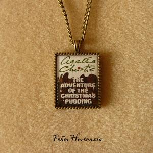 Agatha Christie: A karácsonyi puding (nyaklánc, bronz) - Meska.hu