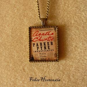 Agatha Christie: Parker Pyne nyomoz (nyaklánc, bronz) - Meska.hu