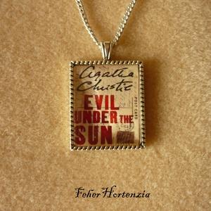 Agatha Christie: Nyaraló gyilkosok (ezüst), Ékszer, Nyaklánc, Medálos nyaklánc, Ékszerkészítés, Meska