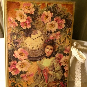 Vintage hölgy órával (fehervaribalazs) - Meska.hu