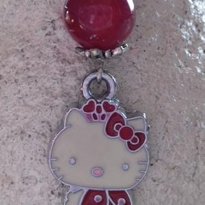 Piros achát katicás Hello Kitty könyvjelző (Fenyekszer) - Meska.hu