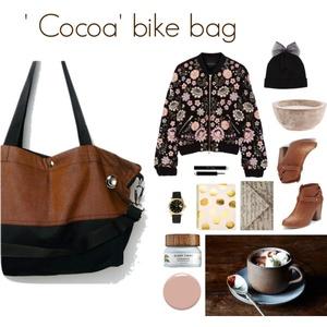 ' Cocoa' bicajtáska ' Small ' bélelt (feyerzsuzsa) - Meska.hu