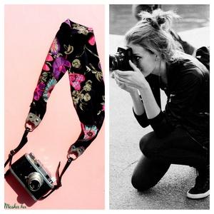 \' Maya\' kamera/fényképezőgép pánt , Öv, Öv & Övcsat, Ruha & Divat, Varrás, Csipkekészítés, A kedvenc kis fényképezőgépedet jó lenne ha biztonságosan, stabilan  tartaná valami,\namit fixen fel ..., Meska