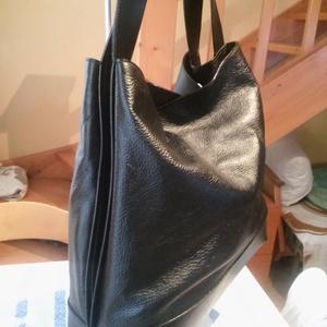 Ében fekete női táska (fgabor1) - Meska.hu