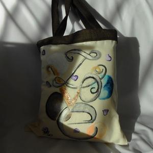 Love ajándék bevásárló táska, Táska & Tok, Bevásárlás & Shopper táska, Shopper, textiltáska, szatyor, Egy nagyon dekoratív csillogós táskával készültem a Valentin napra, egy kedves ajándék a KEDVESNEK!H..., Meska