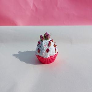 Muffin szappan, Szépségápolás, Szappan & Fürdés, Szappan, Szappankészítés, Saját készítésű, muffin alakú, szulfátmentes, kecsketejes szappan tuttifrutti illattal. Mérete: kb. ..., Meska