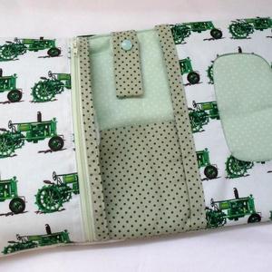 Traktoros pelenkatáska - textil pelenkarendező (FilcesZita) - Meska.hu