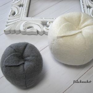 Alma dekoráció természetes anyagból (Filckucko) - Meska.hu