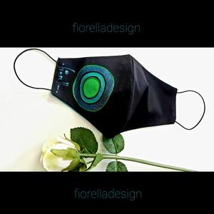 Fiorella maszk kifordítható, Maszk, Arcmaszk, Női, -20% kedvezmény 5db feletti vásárlásnál Kézzel festett egyedi tervezésű szájmaszk, fiorella stílusba..., Meska