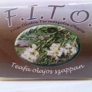 F.I.T.O. Teafaolajos szappan, Szépség(ápolás), Táska, Divat & Szépség, Krém, szappan, dezodor, Natúrszappan, Növényi alapanyagú szappan, Szappankészítés, A FITO egy valódi szappan, mely tradicionális, meleg eljárással, kézműves módszerrel készül.\nA FITO ..., Meska