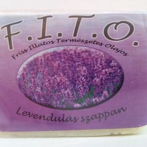 F.I.T.O. Levendulás szappan, Szépség(ápolás), Táska, Divat & Szépség, Krém, szappan, dezodor, Natúrszappan, Növényi alapanyagú szappan, Szappankészítés, A FITO egy valódi szappan, mely tradicionális, meleg eljárással, kézműves módszerrel készül.\n A kifő..., Meska