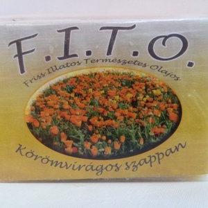 FITO körömvirágos szappan, Szépség(ápolás), Táska, Divat & Szépség, Krém, szappan, dezodor, Natúrszappan, Növényi alapanyagú szappan, Szappankészítés, A FITO egy valódi szappan, mely tradicionális, meleg eljárással, kézműves módszerrel készül.\nA Köröm..., Meska
