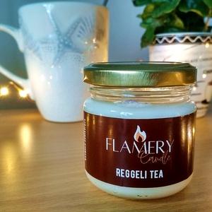 Reggeli tea - szójaviasz illatgyertya 100ml, Otthon & Lakás, Dekoráció, Gyertya & Gyertyatartó, Gyertya-, mécseskészítés, Neked is szükséged van a téli hidegben egy kis melegségre? Akkor ezt a gyertyát Neked alkottuk meg!\n..., Meska