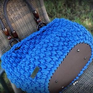 Női táska, horgolt táska, divattáska (floraldekor) - Meska.hu
