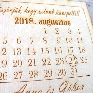 Köszönőajándék naptár, hűtőmágnes (floraldekor) - Meska.hu