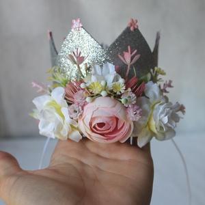 Hercegnő korona szülinapra, fotózáshoz  (FlorallyArt) - Meska.hu