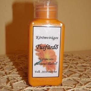 Körömvirágos tusfürdő fűszeres narancs illattal, Szépségápolás, Tusfürdő, Szappan & Fürdés, Mindenmás, Meska