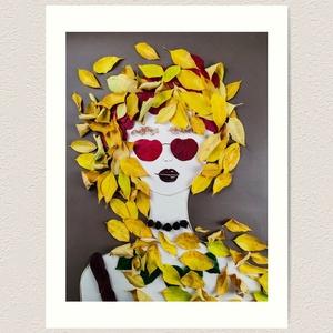 Flowerfaces virágkép- Bizalom, Művészet, Művészi nyomat, Fotó, grafika, rajz, illusztráció, Bizalom nélkül nem tud élni az ember. Bizalom abban, hogy ha esik, ha fúj, az úgy van rendjén. Sárgu..., Meska