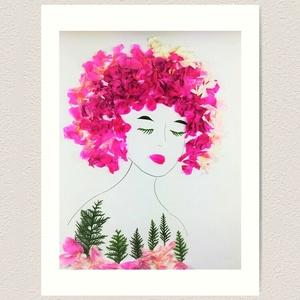 Flowerfaces virágkép- Föld Anya Gyermeke, Művészet, Művészi nyomat, Fotó, grafika, rajz, illusztráció, Ha közel hoznád a természet tiszteletét, vagy ha lelkedben hordozod te is az erdők sorsát. Ha tudod,..., Meska