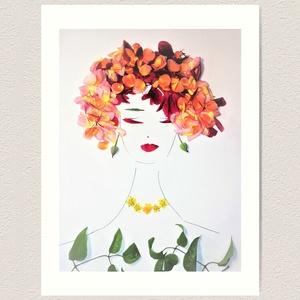 Flowerfaces virágkép- Lelki mélység, Művészet, Művészi nyomat, Fotó, grafika, rajz, illusztráció, Mikor behunyod a szemed és elcsendesedsz, akkor képek ébrednek benned, melyeket te alakíthatsz. Igye..., Meska