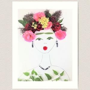 Flowerfaces virágkép- Figyelmesség, Művészet, Művészi nyomat, Fotó, grafika, rajz, illusztráció, Mit jelent figyelmesnek lenni a másik emberrel? Milyen amikor előzékeny vagy? Kétféle rózsa, a bodza..., Meska