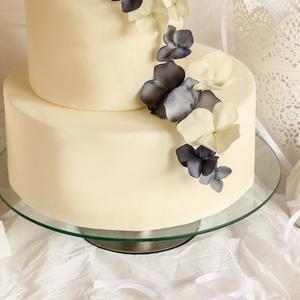 Cukorból csokor tortára (FlowerGleamGlow) - Meska.hu