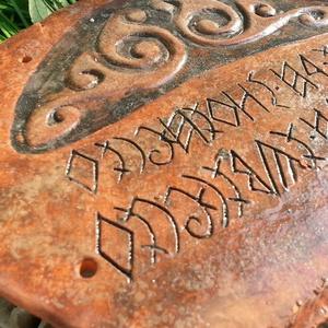 #kelta #csomós #üdvözlő #tábla #rovással (Foenx) - Meska.hu