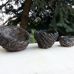 kurama bonsai tál trió (Foenx) - Meska.hu