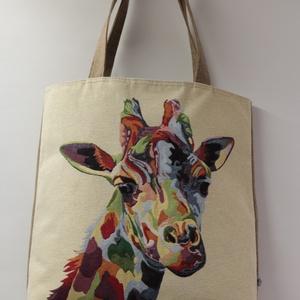 Szafari-bevásárlótáska (FOLTFESZEK) - Meska.hu