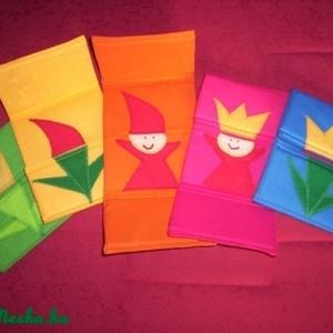 Tulipánból paprika....5db-os csomag, Játék, Gyerek & játék, Plüssállat, rongyjáték, Játékfigura, Patchwork, foltvarrás,  Tulipánból paprika,paprikából Jancsika, Jancsikából kis király, kis királyból tulipán!\n FIGYELEM!!!..., Meska