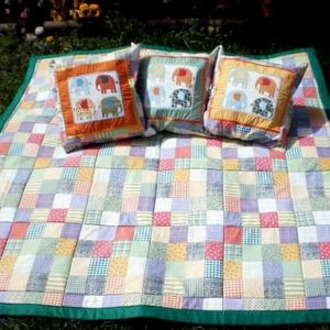 Pasztellben... patchwork mintás pamutvászon szatyor  (Foltonfolt) - Meska.hu