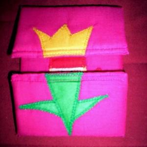 Tulipánból paprika - Pink  alapon! Ajándékba is megkaphatod..., Gyerek & játék, Játék, Plüssállat, rongyjáték, Baba játék, Patchwork, foltvarrás, Varrás, \n\n  Tulipánból paprika,paprikából Jancsika, Jancsikából kis király, kis királyból tulipán.\n\n Anyaga ..., Meska