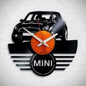 Mini Morris - Bakelit falióra, Otthon & Lakás, Dekoráció, Falióra & óra, Újrahasznosított alapanyagból készült termékek, Meska